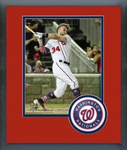 Bryce Harper 2018 All-Star Game MLB Home Run Derby Matted/Framed Photo 6 - $42.95