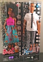 2016 Fashionista Barbie and Ken bundle, African American, NIB, 59, 10 - $21.49