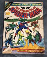 MARVEL SPECIAL EDITION #1, 1975 MARVEL COMICS, THE SPECTACULAR SPIDER-MAN - $8.90