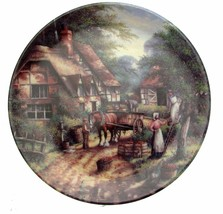 Wedgwood The Apple Pickers Country Days Chris Howells Collector Plate - $36.23