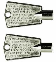 Freezer Door Key for Frigidaire, Kenmore, GE (2 pack) - $4.73