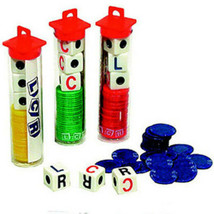 5 LCR Dice Games Free Shipping Less than $5.00 A Game Gift Five Stocking... - $24.99