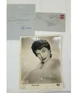 Kaye Ballard Signed Photo and Personalized Letter 1959 - $39.59