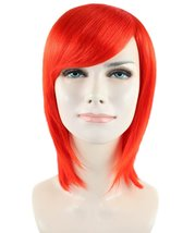 Adult Women Short Neon Red Wig HW-1048 - $24.99