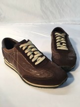 Cole Hasn Nike Aire Brown Leather And Sued Men's Size 9.5 Casual Shoes/s... - $45.00