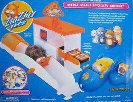 Zhu Zhu Pets Cepia Pizza Shop Playset W Light Up Oven 2010 - $38.53