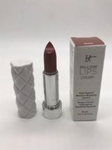 It Cosmetics Pillow Lips CREAM Lipstick Full Size SERENE (Terracotta Bro... - $14.31