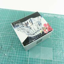 "VTG Mikasa Japan Votive 5"" Six Sided Tealight Candle Holder Key Glass Decorative image 9"