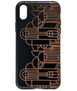 Frank Lloyd Wright Saguaro Forms Apple iPhone X Shock Absorbent Case - $18.56