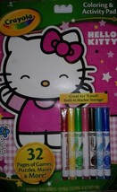 Crayola Hello Kitty Coloring and Activity Pad With Built in Marker Storage. - $7.92