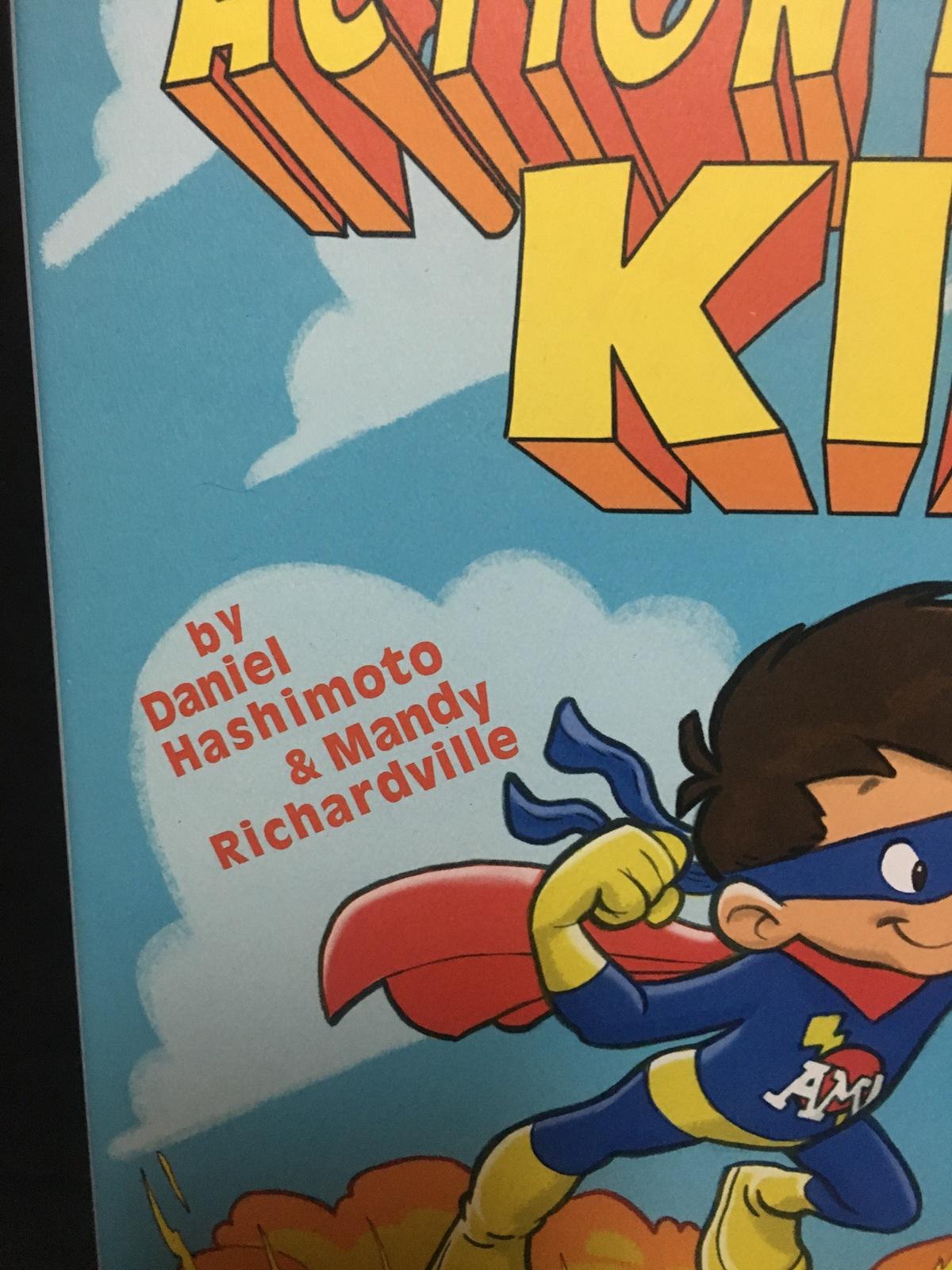 Action Movie Kid Interactive Illustrated Book Hard Cover Hashimoto, Richardville