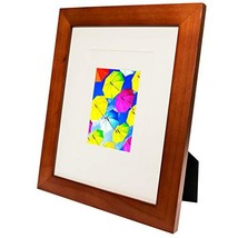 SpoiledHippo 8x10 Picture Frame Brown 1 Pack - Made of Solid Wood with G... - $13.68