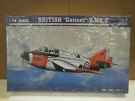 """NEW MODEL- TRUMPETER MODEL KIT- 01630 BRITISH """"GANNET"""" T.MK.2- 1:72- NEW... - $14.60"""