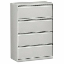 "Hirsh 36"" x 52½"" 4-Drawer Lateral File Cabinet (Choose Color) - $691.88"