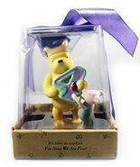 Pooh and Piglet Figurine - Birthday Keepsake - Four - $49.45