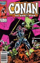 Conan the Barbarian #191 (Newsstand) VG; Marvel | low grade comic - save... - $1.50