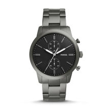New Fossil Men's Townsman Chronograph Stainless Steel Watch Variety Color image 4