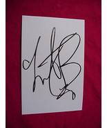 CHARLIE WATTS  Autographed Signed Signature Cut w/COA - 30747 - $50.00