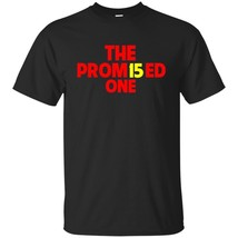 Patrick The Promised One Mahomes Kansas City KC Football Tee Black Navy S-5XL - $20.74