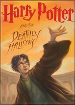 Harry Potter and the Deathly Hallows Book Cover Refrigerator Magnet NEW ... - $3.99