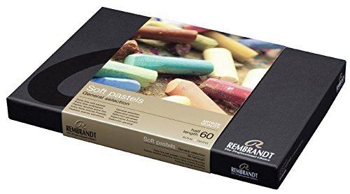 Rembrandt Royal Talens Soft Pastel Set, 60 Half Stick Set