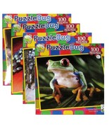 4-pack Variety of Puzzlebug 100 Piece Jigsaw Puzzles - £26.34 GBP