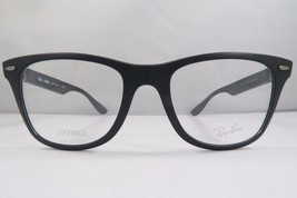 Ray-Ban RB 7034 5204 LITEFORCE Matte Black New Authentic Eyeglasses 50mm... - $75.71