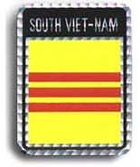 ALBATROS 6 Pack South Vietnam Country Flag Reflective Decal Bumper Stick... - $27.88