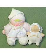 BABY DIOR Chime Ball CHRISTIAN DIOR Eden Toys Plush Doll + Baby ANGEL Ch... - $44.55