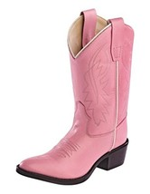 Old West Youth Calfskin Cowboy Boot Pointed Toe - $67.78