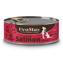 First Mate Cat Food Wild Salmon Formula Grain Free 12 cans Canadian Made - $79.99
