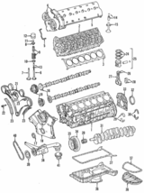 Genuine Mercedes-Benz Chain Guide 120-050-12-16 - $139.49