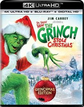 Dr. Seuss' How The Grinch Stole Christmas (4K Ultra HD + Blu-ray+Digital) (2000)
