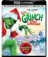 Dr. Seuss' How The Grinch Stole Christmas (4K Ultra HD + Blu-ray+Digital... - $22.95