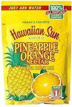 (Pack of 3) Hawaiian Sun Pineapple Orange Nectar Powder Drink Mix 4.52 Oz - $23.75