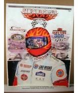 Program book UAW-Daimlerchrysler 400/ Las Vegas Motor Speedway March 2, ... - $11.69