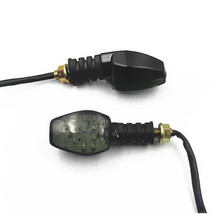 Universal LED Turn Signal Lights Indicator For Kawasaki Ninja ZX10R Moto... - $9.89