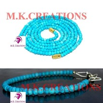 """Natural turquoise 3-4mm Beads Beaded 16"""" Necklace 7"""" Bracelet Jewelry Set - $19.74"""