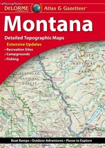 DeLorme® Montana Atlas Gazetteer (Delorme Atlas Gazetteer) - $42.72