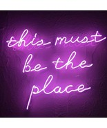 "New This Must Be The Place Neon Sign Poster Artwork Acrylic Light 24""x16"" - $168.29"