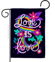 Love is - Impressions Decorative Garden Flag G165219-BO - $19.97