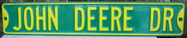 John Deere Dr Heavy Duty Porcelain Sign - $49.00