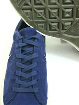 Converse One Star Ox Mens Midnight Indigo Purple Silver Suede Shoes Size 8 New  image 5