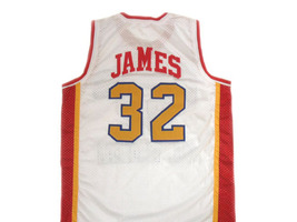 Lebron James #32 McDonald's All American Basketball Jersey White Any Size image 5