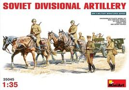 Miniart Models - 35045 - Soviet Divisional Artillery - $47.99