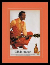 Chuck Berry 1988 Christian Brothers Brandy Framed 11x14 ORIGINAL Adverti... - $32.36