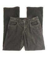 Lee Womens Pants Size 8M Lower At Waist Brown Corduroy Stretch Pants - $20.55
