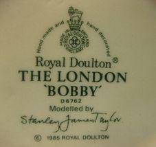 """The London Bobby D6762 Royal Doulton Character Toby Jug Small 4"""" 10cm Big Ben image 5"""