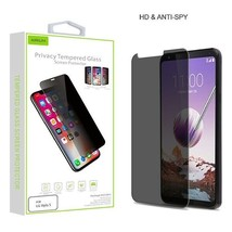 For LG Stylo 5 Privacy Tempered Glass Screen Protector Guard Anti Spy An... - $8.34