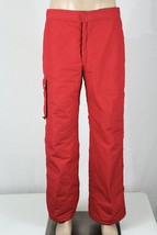 HEAD Men's Size 36 Red Fully Lined Insulated Snow Ski Snowboarding Pants... - $37.72